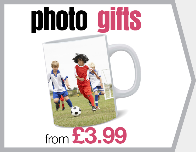 Photo Gifts from £3.99